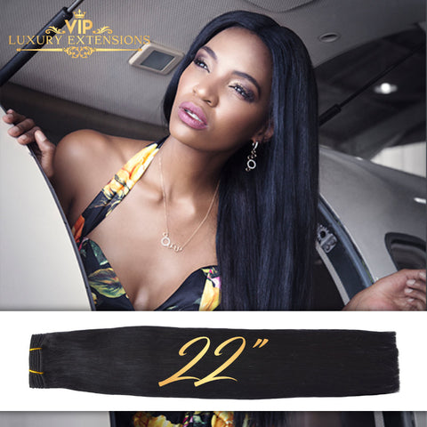 Weave 22″ Diamond Collection Virgin Remy Hair Jet Black Straight