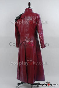 Star-Lord Guardians of The Galaxy Peter Quill Cosplay Längemantel Kostüm