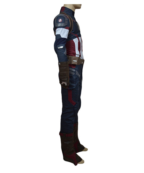 Avengers: Age of Ultron Captain America Steve Rogers Uniform Cosplay Kostüm