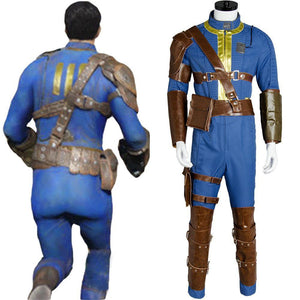 Fallout 4 FO Nate Vault #111 Outfit Jumpsuit Uniform Cosplay Kostüm - cosplaycartde