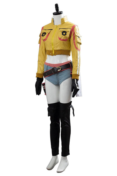 Final Fantasy XV  FF15 Cindy Aurum Tankstelle Service Uniform Cosplay Kostüm - cosplaycartde