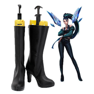 League of Legends Kda THE BADDEST Kaisa Stiefel Cosplay Schuhe