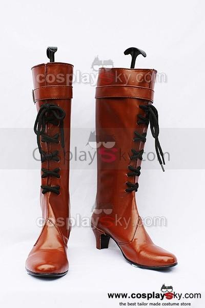 11eyes: Tsumi to Batsu to Aganai no Shojo Cosplay Stiefel - cosplaycartde