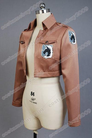 Attack on Titan Shingeki no Kyojin The Garrison Jacke Cosplay Kostüm