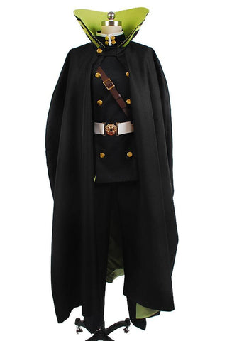 Yuichiro Hyakuya Uniform Outfit Seraph of the End Cosplay Kostüm - cosplaycartde