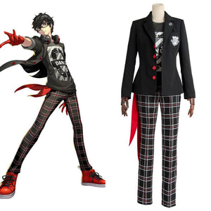 Persona 5 Protagonist Dancing Star Night Cosplay Kostüm