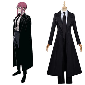 Chainsaw Man Makima Cosplay Kostüm Halloween Karneval Outfits