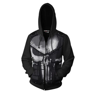 The Punisher Staffel 2 Frank Castle Pete Castiglione Hoodie Pullover mit Kaputze Sweatshirt