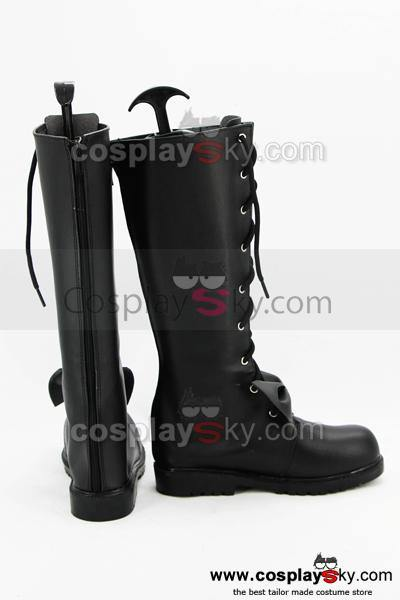 Date A Live Kurumi Tokisaki Cosplay Boots Shoes Custom Made