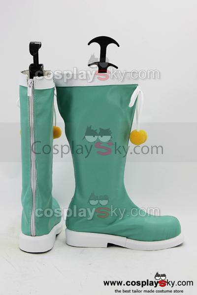 Date A Live Yoshino Cosplay Boots Shoes Custom Made - cosplaycartde