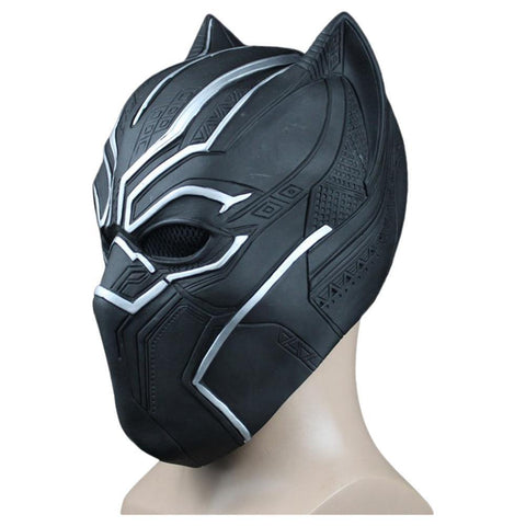 Marvel 2018 Black Panther T'Challa Kopfbedeckung Cosplay Requisite