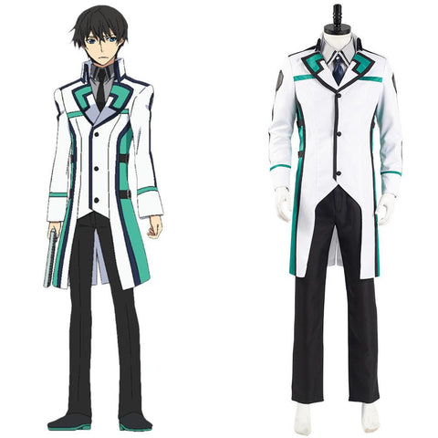 The Irregular at Magic High School Tatsuya Shiba Cosplay Kostüm Uniform Outfits Halloween Kanreval Kostüm