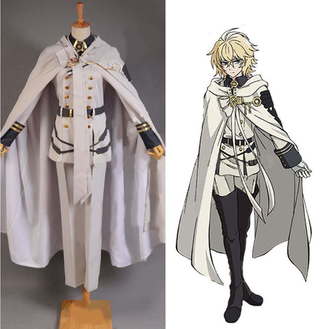 Vampires Mikaela Hyakuya Uniform Outfit Seraph of the End Cosplay Kostüm - cosplaycartde