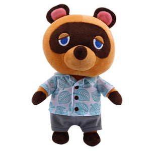 28cm Animal Crossing Raccoon Plüsche Puppe Tom Nook Bär Puppe Spielzeug