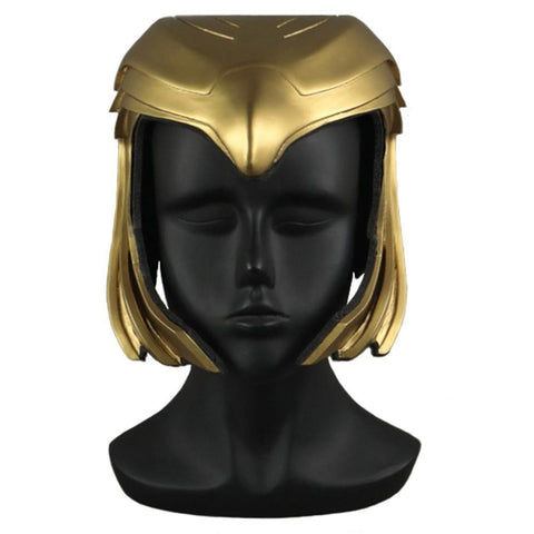 Wonder Woman 1984 Diana Kopfschmuck Cosplay PVC Helm Halloween Party Cosplay Requisite - cosplaycartde
