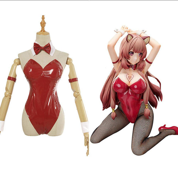 Tate no Yuusha no Nariagari/Rising of Shield Hero Raphtalia Cosplay Kostüm Jumpsuit Halloween Karneval Outfits - cosplaycartde