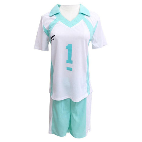 Haikyuu!! Oikawa Tooru Cosplay Aoba Johsai High School Gymnasium Uniform T-shirt Short Set