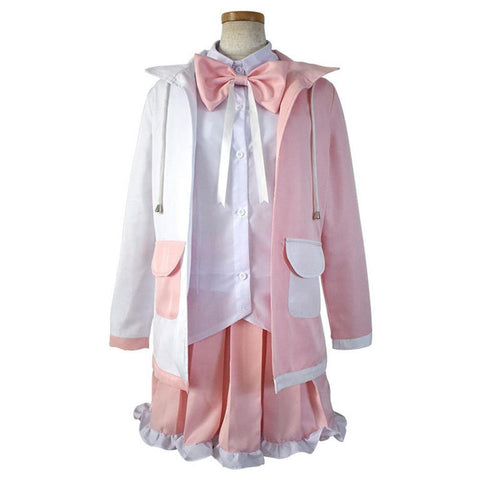 Danganronpa 2:Goodbye Despair Cosplay Monomi Kostüm Usami Uniform Kleid - cosplaycartde