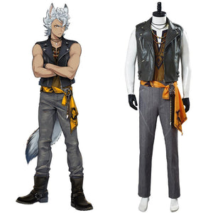 Twisted Wonderland Savanaclaw Jack Howl Cosplay Kostüm Halloween Kostüm