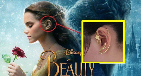 Die Schöne und das Biest Belle Beauty and the Beast Belle Ohrringe earring Cosplay Requisite