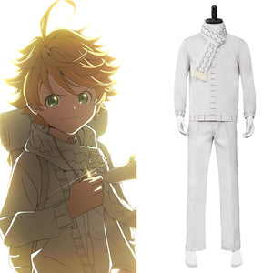 The Promised Neverland 2 Emma Cosplay Kostüm Halloween Karneval Outfits