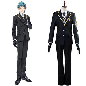 Twisted-Wonderland Azul/Floyd/Jade Cosplay Kostüm Uniform Halloween Karneval Kostüm
