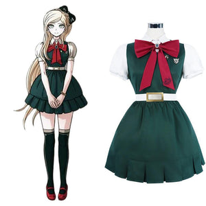 Danganronpa 2: Goodbye Despair Desperate Academy Sonia Nevermind Uniform Cosplay Halloween Karneval Kostüm