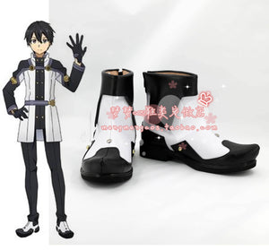 SAO Sword Art Online the Movie Ordinal Scale OS Kirito Kirigaya Schuhe Cosplay Schuhe - cosplaycartde