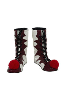Es: Kapitel 2 Film Pennywise The Clown Outfit Cosplay Schuhe Stiefel