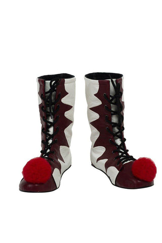 Es: Kapitel 2 Film Pennywise The Clown Outfit Cosplay Schuhe Stiefel - cosplaycartde