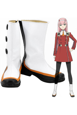 DitF Darling in the Franxx Code 002 Zero Two Schuhe Cosplay Schuhe Stiefel - cosplaycartde