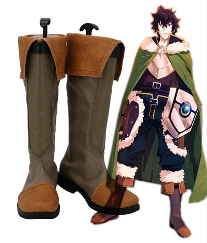 The Rising of the Shield Hero Naofumi Iwatani Schuhe Cosplay Schuhe Stiefel