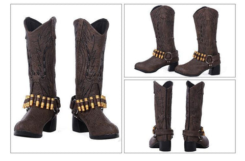DmC: Devil May Cry 5 Nico Cosplay Stiefel Cosplay Schuhe - cosplaycartde