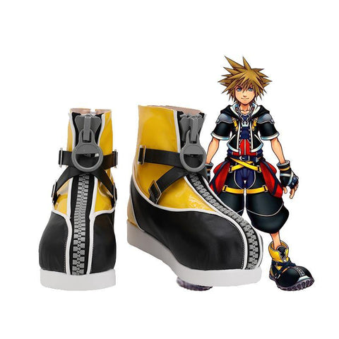 Kingdom Hearts III Kingdom Hearts 3 Pirat Sora Stiefel Cosplay Schuhe - cosplaycartde