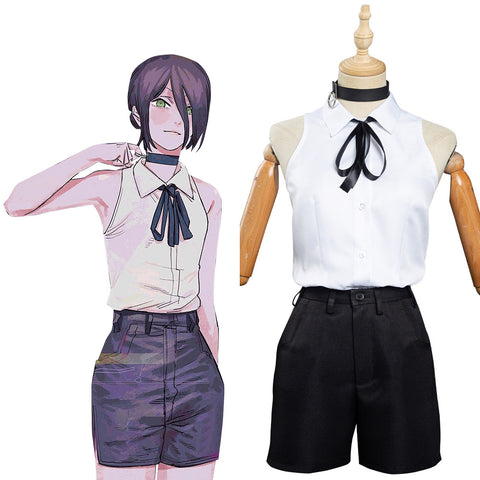Chainsaw Man Reze Kostüm Cosplay Uniform