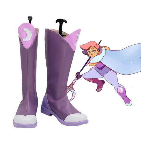 She-Ra and the Princesses of Power Glimmer Stiefel Cosplay Schuhe - cosplaycartde