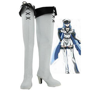 Akame ga KILL! Esdeath Empire General schuhe Cosplay Schuhe