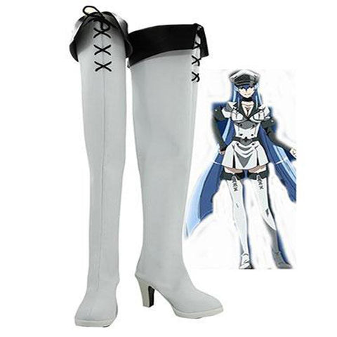 Akame ga KILL! Esdeath Empire General schuhe Cosplay Schuhe - cosplaycartde