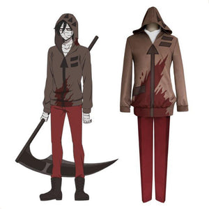 Anime Angels of Death Satsuriku no Tenshi Isaac FOSTER Cosplay Kostüm - cosplaycartde