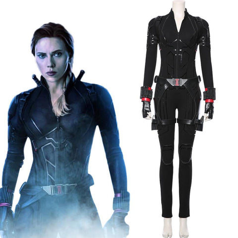Avengers 4 Avengers: Endgame Black Widow Jumpsuit Cosplay Kostüm Version B - cosplaycartde