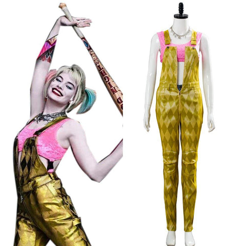 Birds Of Prey: The Emancipation Of Harley Quinn Cosplay Kostüm Damen Kostüm Karneval - cosplaycartde