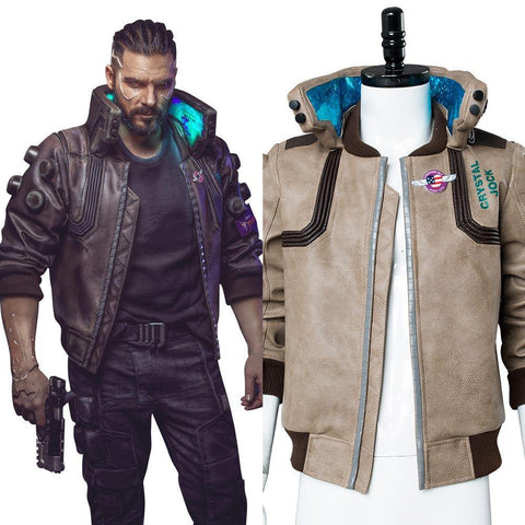 Cyberpunk 2077- V Video Spiel Top Jacke Cosplay Kostüm - cosplaycartde