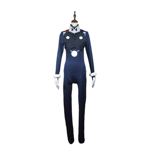DARLING in the FRANXX HIRO Code 016 Cosplay Kostüm Jumpsuit