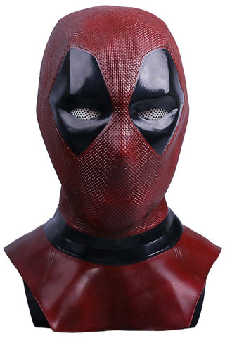 Deadpool Cosplay Wade Winston Wilson Leather Maske Neu Version