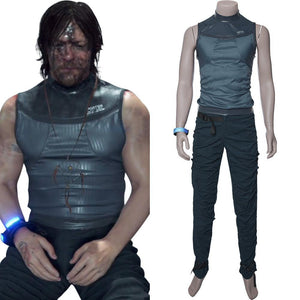Death Stranding-Sam Porter Bridges Cosplay Kostüm Version B - cosplaycartde