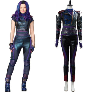 Descendants 3 Mal Kostüm Cosplay Kostüm Set Version B