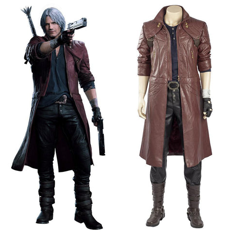 Devil May Cry 5 Devil May Cry V Dante Mantel Cosplay Kostüm - cosplaycartde