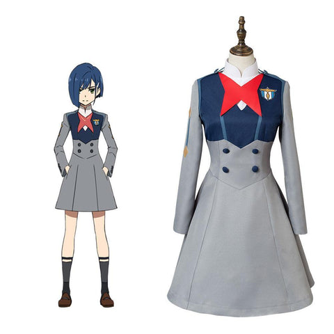 DitF Darling in the Franxx Code 015 Ichigo Uniform Cosplay Kostüm - cosplaycartde
