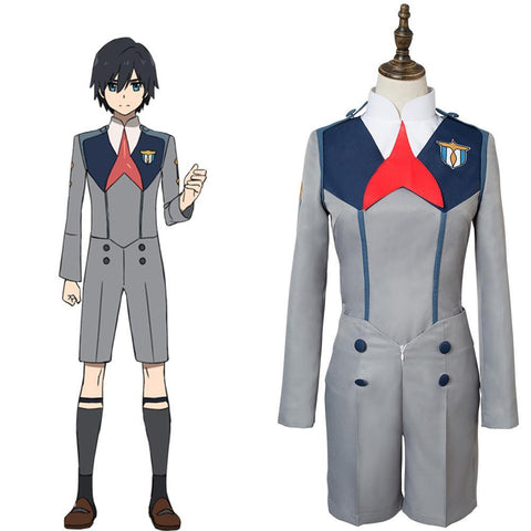DitF Darling in the Franxx Code 016 HIRO Uniform Cosplay Kostüm - cosplaycartde
