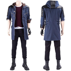 DmC:Devil May Cry 5 Nero Cosplay Kostüm Mantel - cosplaycartde